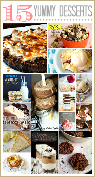 15 Delicious Dessert Recipes overt at the36thavenue.com