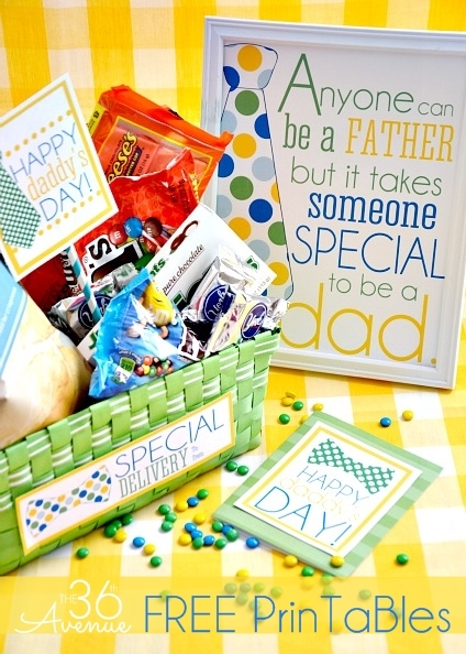 Fathers Day Printable Gifts