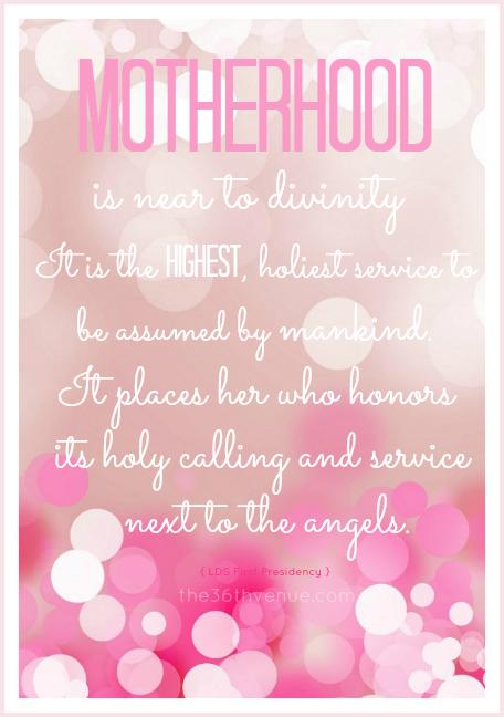 Motherhood... the36thavenue.com