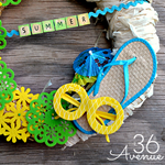 Fun Summer Wreath Tutorial