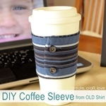DIY Cup Sleeve Tutorial