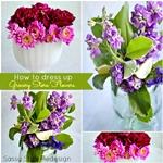 How to make a flower centerpiece