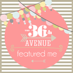 I was featured on the36thavenue.com