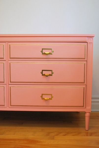 Gorgeous dresser makeover!