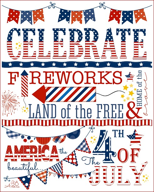 july 4 1776 clipart