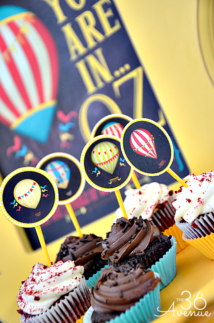Birthday Party Printables... Bring The Land of OZ home! the36thavenue.com #birthday #kids