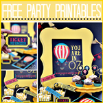 Oz The Great Free Party Printables