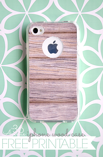 iphone Wood Case Free Printable - The 36th AVENUE