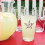 4th of July Star Glasses