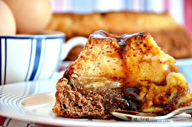 Choco Flan Dessert