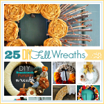 25 Gorgeous Handmade Fall Wreaths