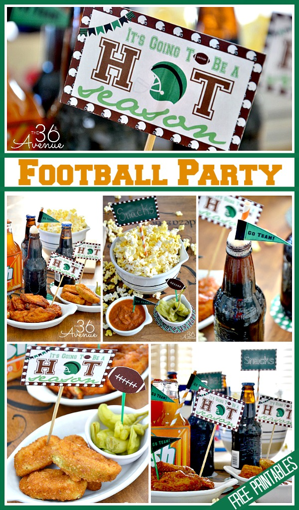 Football Party Set at The 36th Avenue