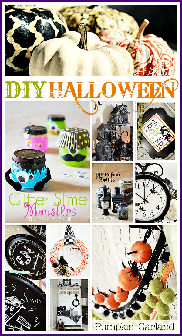 Halloween crafts and decor the 36th avenue for Halloween decorations crafts to make