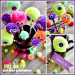 Halloween Craft ~ DIY Monster Pencils