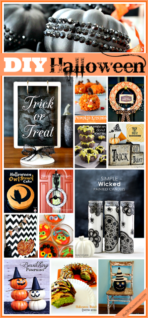 Best DIY Halloween ideas the36thavenue.com
