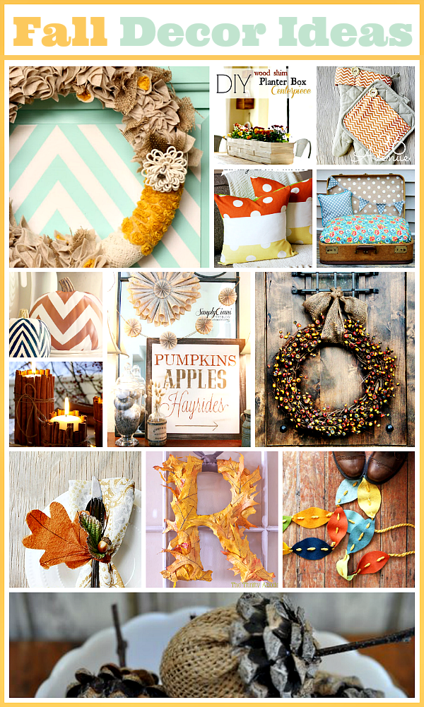 Fall Decor Ideas the36thavenue.com