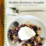 Blueberry Crumble Healthy Recipe