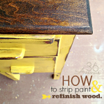 How to Strip and Refinish Wood