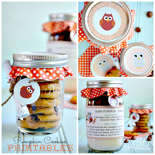 Pumpkin Cookie Recipe Printable