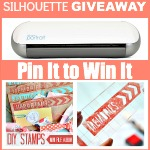 Silhouette Giveaway and DIY Stamps