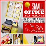 Small Office Makeover and Design Tips