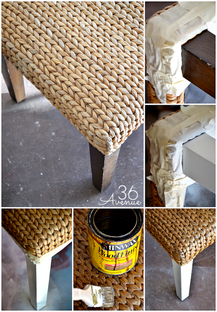 DIY Bench Tutorial and Family Room Decor @the36thavenue.com