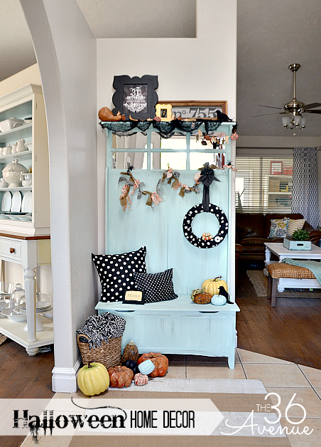 Halloween Home Decor at the36thavenue.com Tons of fun ideas!