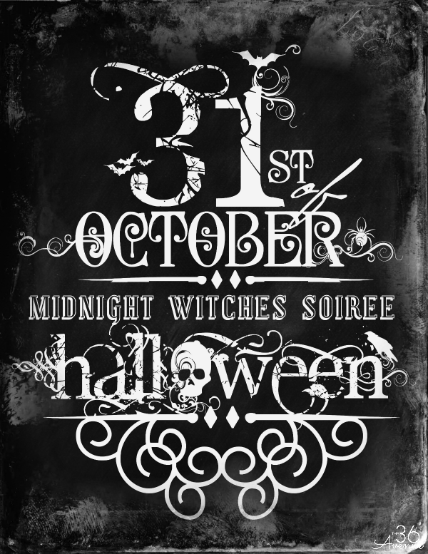 Halloween decor and free printables the 36th avenue - Printable halloween decorations ...