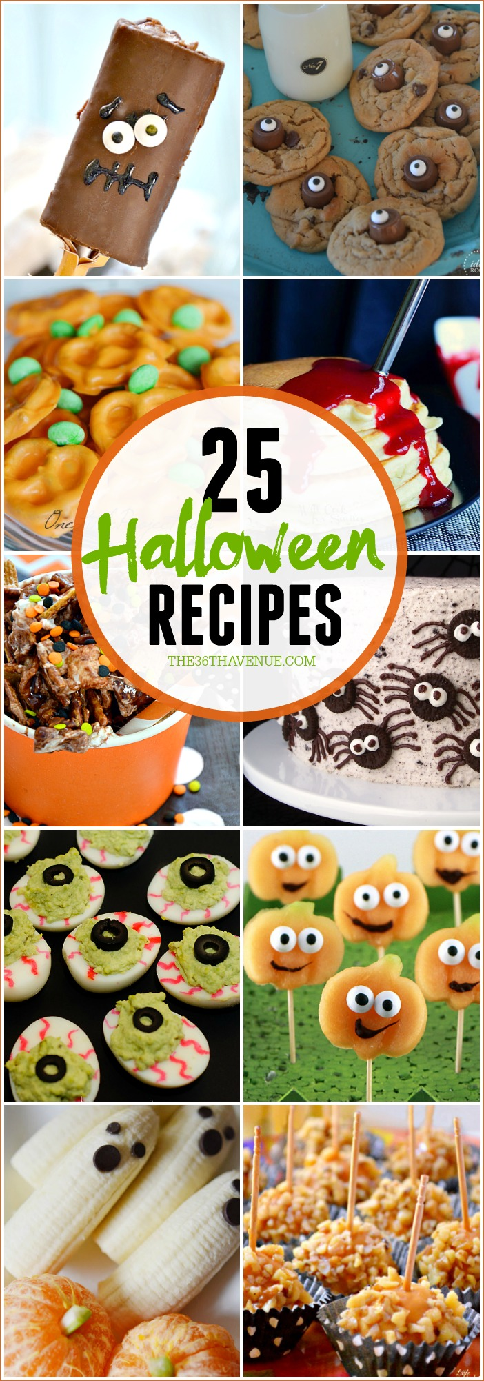 Halloween Recipes that are easy to make and fun to eat!