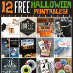 12 Halloween Free Printables