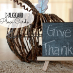 Chalkboard Place Card Tutorial