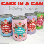 Birthday Cake In A Can Tutorial