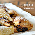 Chocolate Turnovers Recipe ~ Two Ingredients