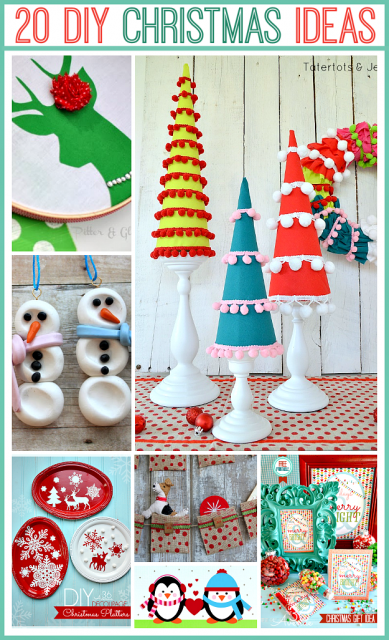 Adorable handmade christmas projects at the thavenue