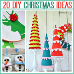 20 DIY Christmas Projects ~ Adorable Ideas