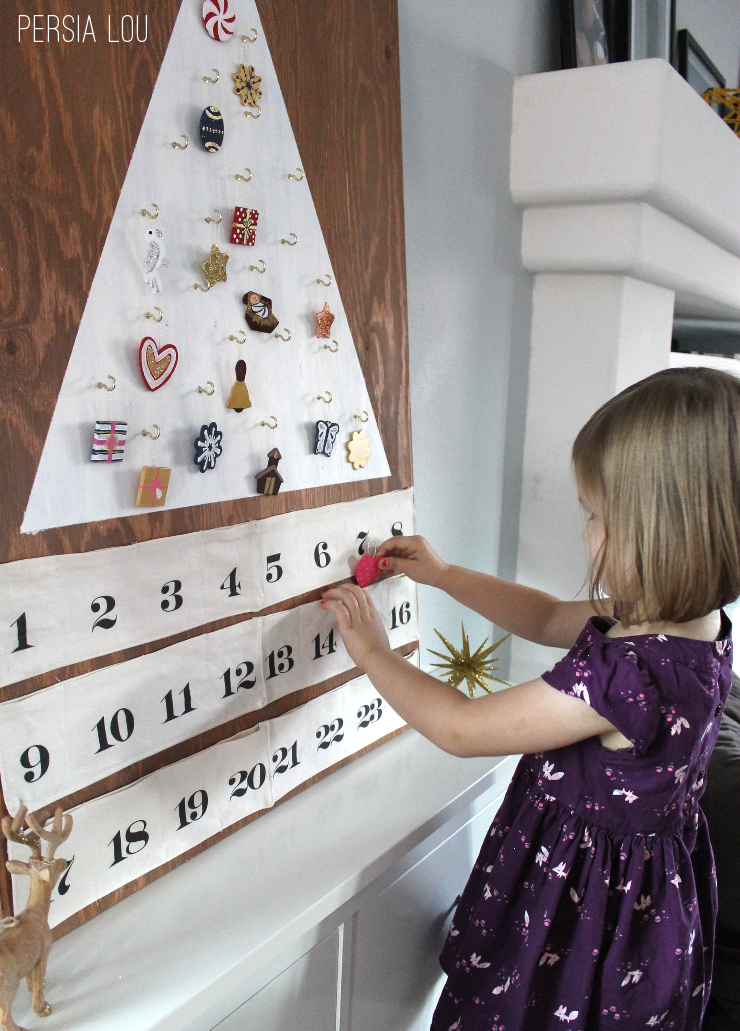 Handmade Calendar Tutorial : Adorable handmade christmas projects at the thavenue