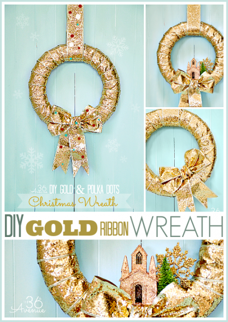 Christmas Wreaths Tutorial www.the36thavenue.com