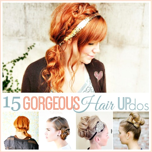 Hair Updo Tutorials