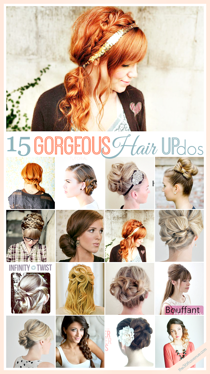 Hair Updo Tutorials The 36th Avenue