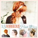 15 Easy Hair Up-do Tutorials