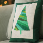 Christmas Tree Pillow Tutorial