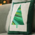 Christmas Tree Pillow Tutorial