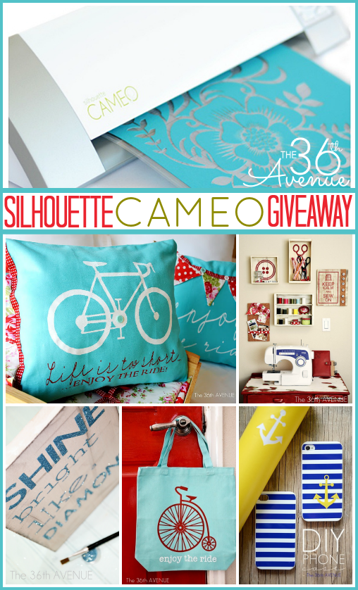 Silhouette Cameo Giveaway at the36thavenue.com …Click on the image and enter to win!