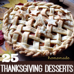 25 Thanksgiving Recipes ~ Desserts and Treats