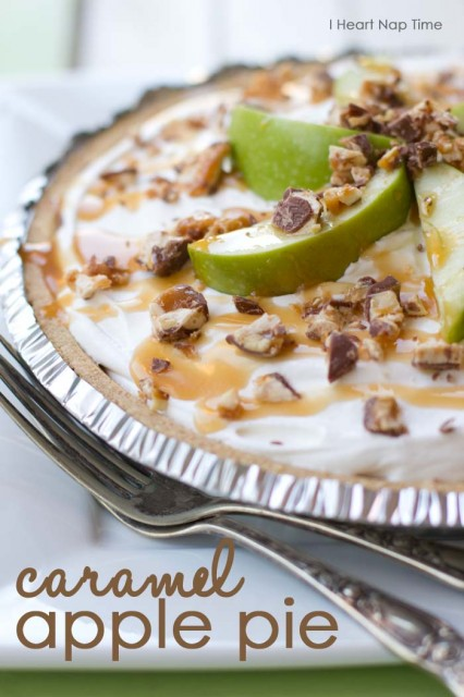 15 Delicious No-Bake Pie Recipes - Fall recipes are the best and these NO BAKE PIE RECIPES are beyond delicious! Make any of these yummy pie recipes for Thanksgiving or for any time you are craving a quick and easy dessert! PIN IT NOW and make them later!