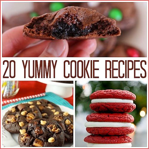 20 Delicious Cookie Recipes