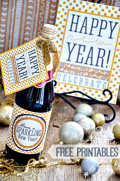 New Years Printable at the36thavenue.com