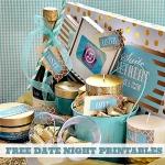 Free Printable ~ Date Night Basket