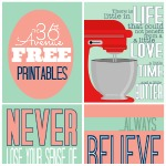 Free Printables ~ Inspirational Quotes