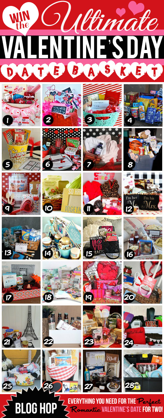 GIVEAWAY: 29 Valentine's Day Date Baskets for 29 winners!!! Click on the image and enter to win!